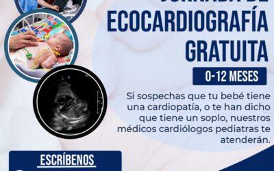 Jornada de Ecocardiografía Gratuita 24 de Junio – 05 de Julio