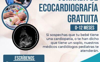 Jornada de Ecocardiografía Gratuita 12 – 20 de Junio